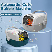Bubble Machine Rice Cooker Shape Automatic Bubble Blower Maker for Kids Children Toddlers Outdoor Indoor Party Games Toy