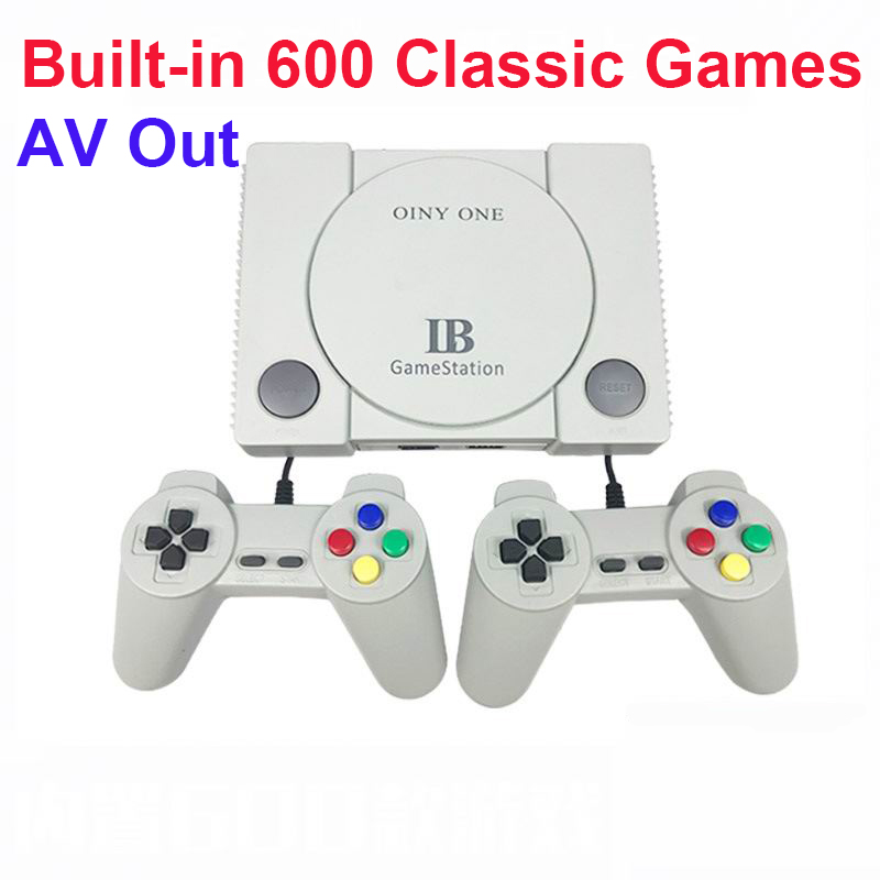 Retro Video Games Console Family TV Game Console Built-in 600 Classic Games Controller for NES/FC TV Handheld Mini Game Console