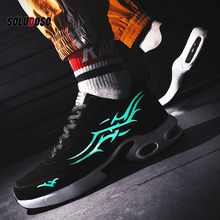 New Men Vulcanize Shoes Shock Absorption Cushion Breathable Lightweight Comfortable Footwear Outdoor Sports Sneakers Walking onemix 2017 new men s sports running shoes for men shock absorption mesh lightweight design comfortable air cushion shoes 1191