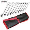 Práctica lona bolsa de herramientas llave herramienta enrollable plegable llave organizadora bolsa de mano herramienta de almacenamiento bolsa