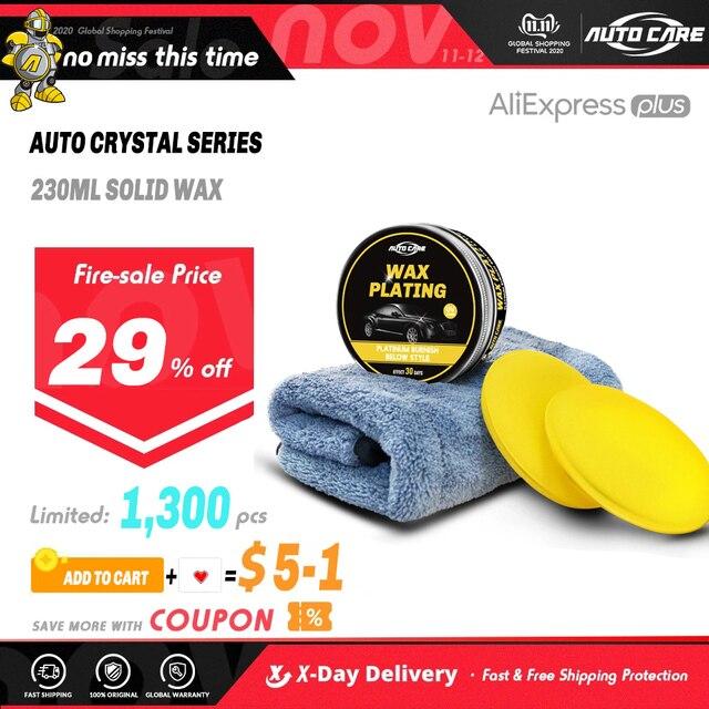 230ml Car Wax Crystal Plating Set Hard glossy wax layer covering the paint surface coating formula Super waterproof film