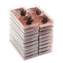 SHIDISHANGPIN hurtowe sztuczne rzęsy moda hand made 3d mink volume rzęsy naturalne messy miękkie rzęsy do makijażu luzem tanie tanio Pasek rzęs CN (pochodzenie) Inne 1 cm-1 5 cm Podstawa z plastiku i bawełny #10 series Pełny pasek rzęs Naturalnie długie