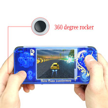 Retro Game Console Portable Handheld Player Built-in 3000 joystick Q9 handheld game console Chinese dragon A1
