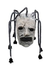 цены Halloween Slipknot Mask Horror Latex Grimace Tree Monster Mask Adult Cosplay Costume Props For Halloween Supplies