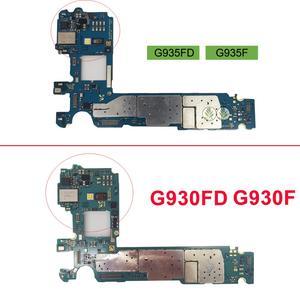 Image 2 - Sbloccato per Samsung Galaxy S7 G930F G930FD S7 Edge G935F G935FD scheda madre originale chip completi, versione europa rete 4G