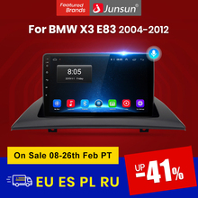 Junsun V1 pro 2G + 128G Android 10 Für BMW X3 E83 2004 - 2012 Auto Radio Multimedia video Player Navigation GPS 2 din dvd