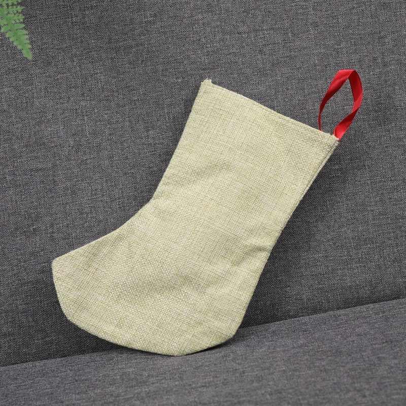 ถุงน่องคริสต์มาส Santa Candy Bag Claus ถุงเท้าของขวัญเด็ก Candy คริสต์มาส Noel ตกแต่งบ้านคริสต์มาสเครื่องประดับต้นไม้