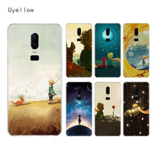 Uyellow Lovely the Little Prince fox Case For One Plus 7 Pro 6 6T 5 5T Fashion Fundas Printed Cover Luxury Phone Coque Shell