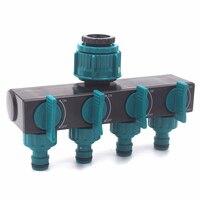 4 Way Quick Irrigation Connectors Hose Splitters Faucet  Shunt Sprinklers Metal Tap Supplies Water Pipe Per Garden Fittings|Garden Water Connectors|Home & Garden -