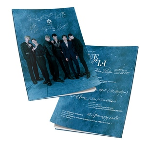 Kpop ASTRO 6th Mini Album <BLUE FLAME> Mini Photobook Fashion K-pop ASTRO Photo Album Photo Card Fans Collection(China)