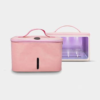 UVC LED Light Sterilizer Box to Sterilize Disinfection Bag Sanitizer Box Sterilizer for Mobile Phone Mask Milk Bottles Clothes