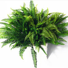 1x Artificial Large Boston Fern Fake Plant Bush Leaf Leave Foliage House Decor(China)