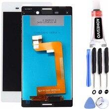 Plein écran pour Sony Xperia M4 Aqua E2303 E2306 E2353 blanc