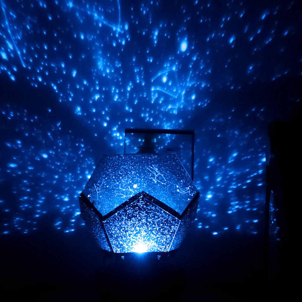 כוכב סקיי מאסטר מקרן לילה מנורת LED קסם אסטרו אור כוכבים גלקסי כוכב לילה אורות שולחן חדר שינה קישוט