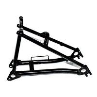 TWTOPSE 440-460g Titan Fahrrad Rahmen Gabel Für Brompton Falten Fahrrad Hinten Dreieck Gabel Rahmen Fahrrad Teil Leichte