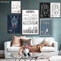 Схема космический корабль ракеты мира Плакат Современная Картина на холсте Горячие настенные картины плакаты и принты для домашнего декор...