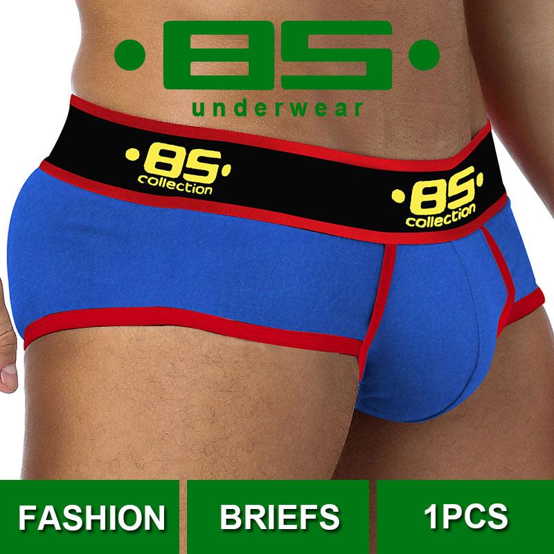 CMENIN Cuecas 85 Sexy Underwear Men Jockstrap Briefs Men Bikini Gay Male Underpants BS175 Underware New Men