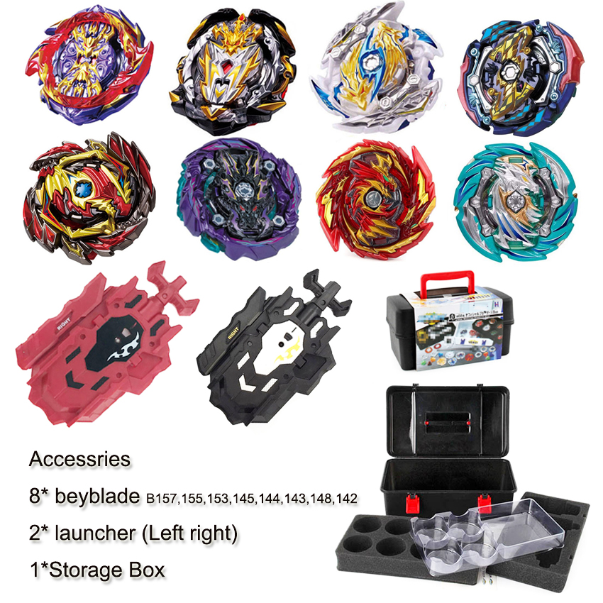 2020 New Hot Genuine Takaratomy Beyblades GT B-157 B-155 Burst Genesis God Spin Spin Spinner Toy