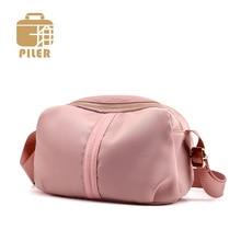 Piler Famous Brands Nylon Women Bag Handbag Small Nylon Bag Crossbody Bag for Women Mini Shoulder Messenger Bag Handbags Purse