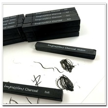 Carbon Rod Pen Fine Strips for Sketching and Painting Charcoal Pencil Art Use Square Graphite Carbon Rod Softmedium
