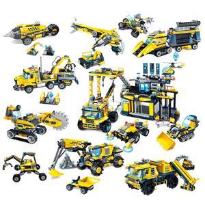 Строительный инженерный строительный блок Technic Kyanite Squad Ploration Base Образовательные Кирпичи Игрушка мальчик подарок
