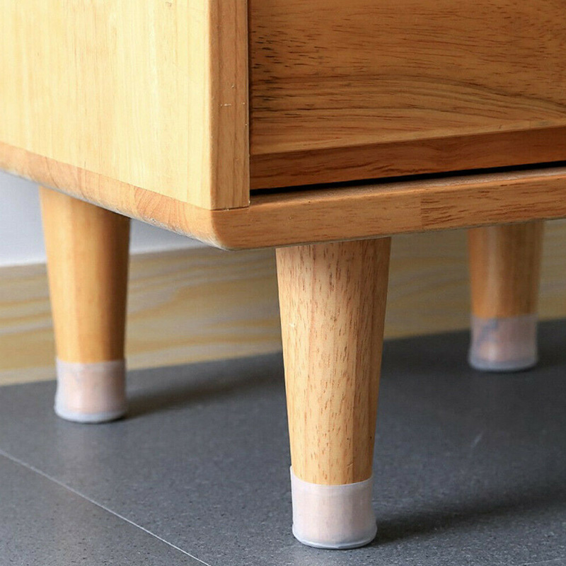 Silicon Furniture Leg Protection Cover Table Feet Pad Floor Protector For Home NIN668