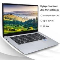 ultrabook עם להאכיל אותי מחשב נייד 15.6 אינץ 8GB RAM 256GB / 512GB SSD Intel Quad Core J3455 מחשבים ניידים עם FHD תצוגה Ultrabook WiFi (3)