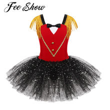 Fancy Baby Meisjes Prinses Tutu Rok Kids Halloween Verjaardag Circus Circusdirecteur Cosplay Kostuum Kleding Kind Kerst Dress Up(China)