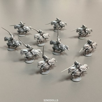 10PCS/Set Knights Wars Board Game Miniatures Figures Role Playing Mini Figure Boy Toys 25pcs set arcadia quest role playing board games miniatures dnd model wars game figures toys