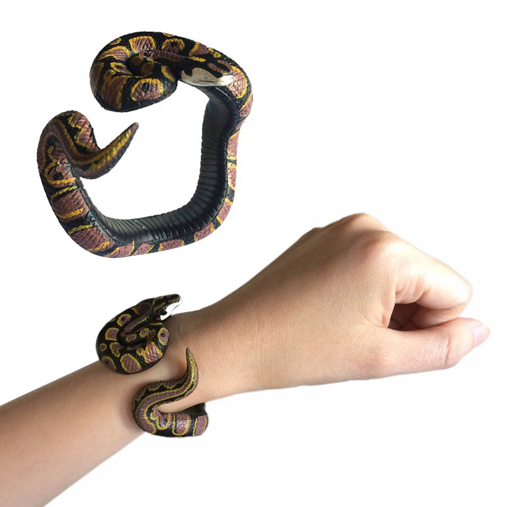 Bracelet DIY Simulation Plastic Animal Hand Painted Elastic Novelty Funny Toy Stress Toy