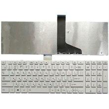 الروسية لتوشيبا C850 C855D C855 C870 C870D C875 L875 L950 L950D L955 L955D RU لوحة المفاتيح الأبيض