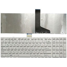 Russian for TOSHIBA C850 C855D C855 C870 C870D C875 L875 L950 L950D L955 L955D RU keyboard white