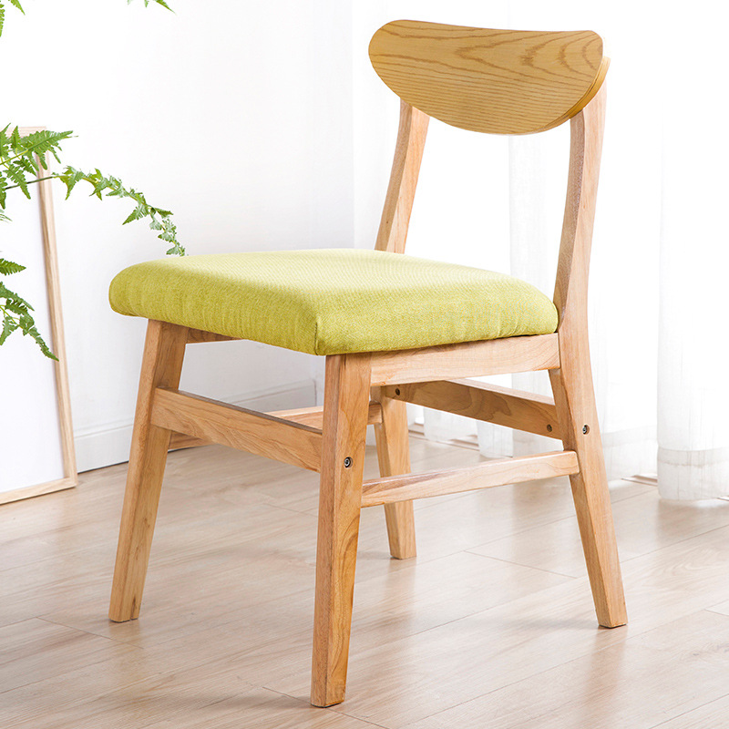 Dining Chair Northern European-Style Chair Home Armchair Minimalist Modern Economical Writing Chair Restaurant Small Stool