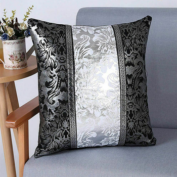 Luxury Vintage Europe Decorative Cushion Cover Floral Pillow Case For Car Sofa Decor Pillowcase Home Pillow Covers 45 x 45cm New pink feather pillowcase decorative sofa cushion case bed pillow cover home decor car cushion cover cute pillow case 45 45cm