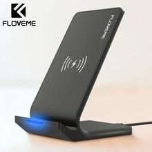 Chargeur sans fil FLOVEME Qi pour iPhone X XS XR 8 10W chargeur rapide USB chargeur sans fil de charge pour Samsung Galaxy S8 S9 Note 8