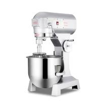 BS B20 Kommerziellen Multi funktion Alle stahl Doppel action Doppel Geschwindigkeit 20L kg Automatische Mischen Nudel Teig kneten Maschine-in Küchenmaschinen aus Haushaltsgeräte bei