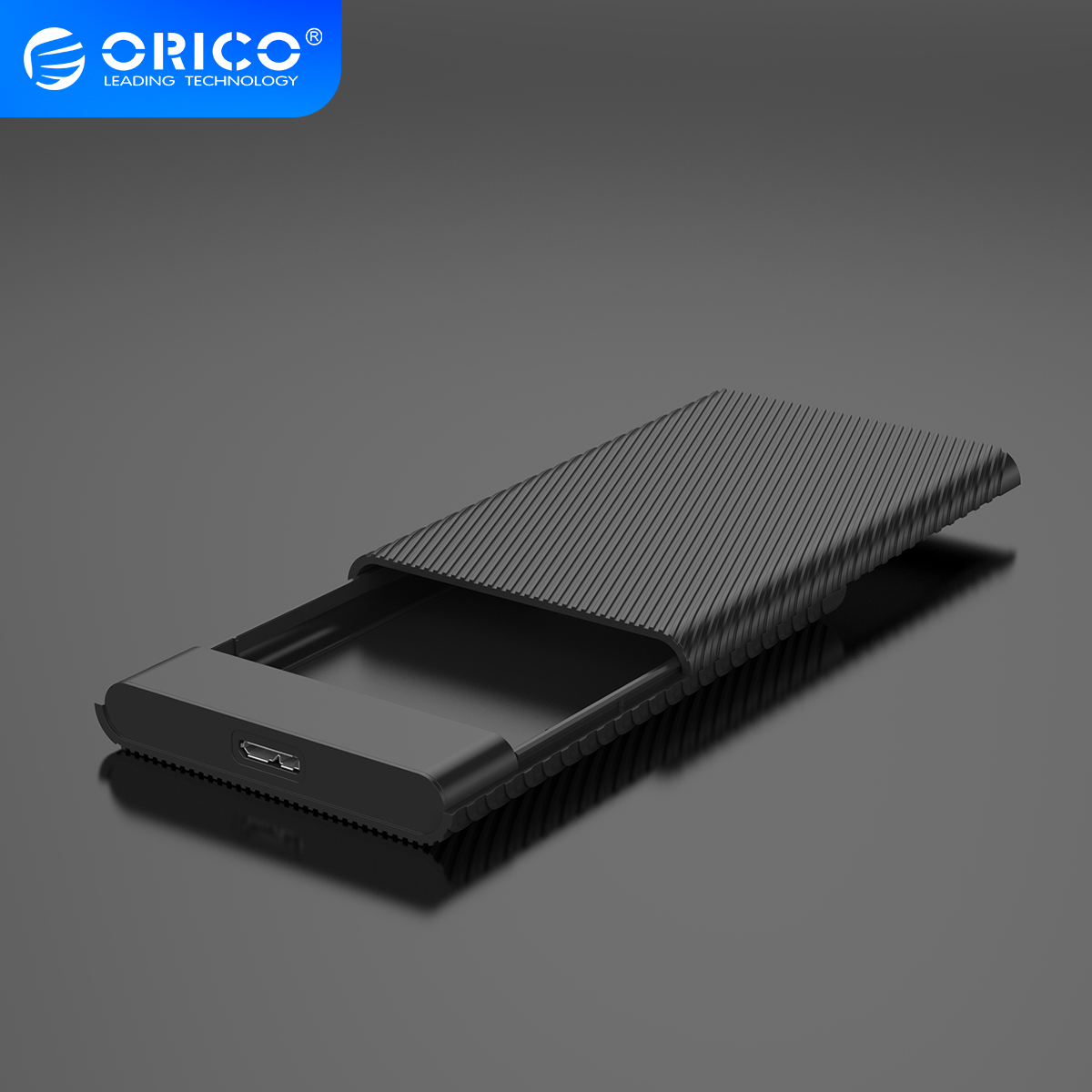 ORICO USB3.0 HDD SSD адаптер 2,5 дюймов внешний HDD чехол 5 Гбит/с HDD корпус с функцией автоматического сна UASP