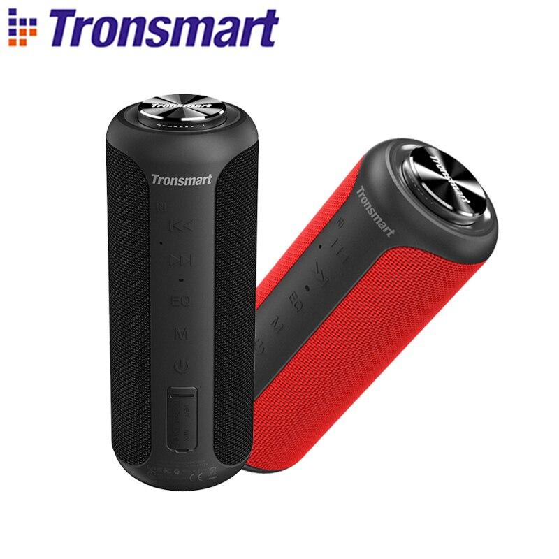 Tronsmart T6 Plus (édition améliorée) Bluetooth 5.0 haut-parleur 40W Portable TWS haut-parleur IPX6 colonne avec NFC, carte TF, clé USB