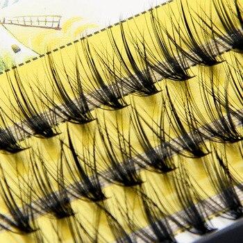 20D/30D Mink Super Cluster Eyelash Extension Natural 3D Russian Volume Faux Eyelashes Individual Lashes Makeup Cilia Cilias 1