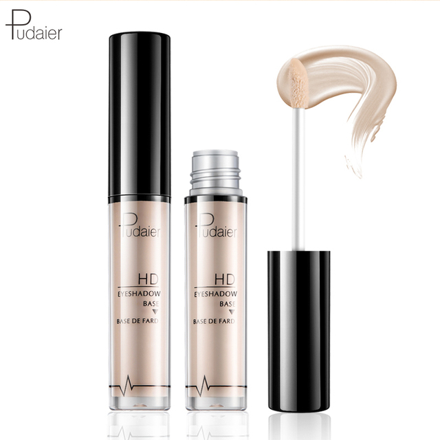 Pudaier Eyeshadow Primer Eye Concealer Base for Shadows Eyeshadow Base Under Shadow Long Lasting 24 Hour Makeup Bases Cosmetics 3