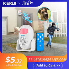 KERUI M120 Smart 100db PIR Infrared Anti Theft Burglar Welcome Multifunction Human Motion Detector For Garage Shop Home Security