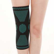 цена на TJ-TingJun  Sports Kneepad Knitted Anti-skid Breathable Cycling Protection Sports Enthusiasts Kneepad Cover K360