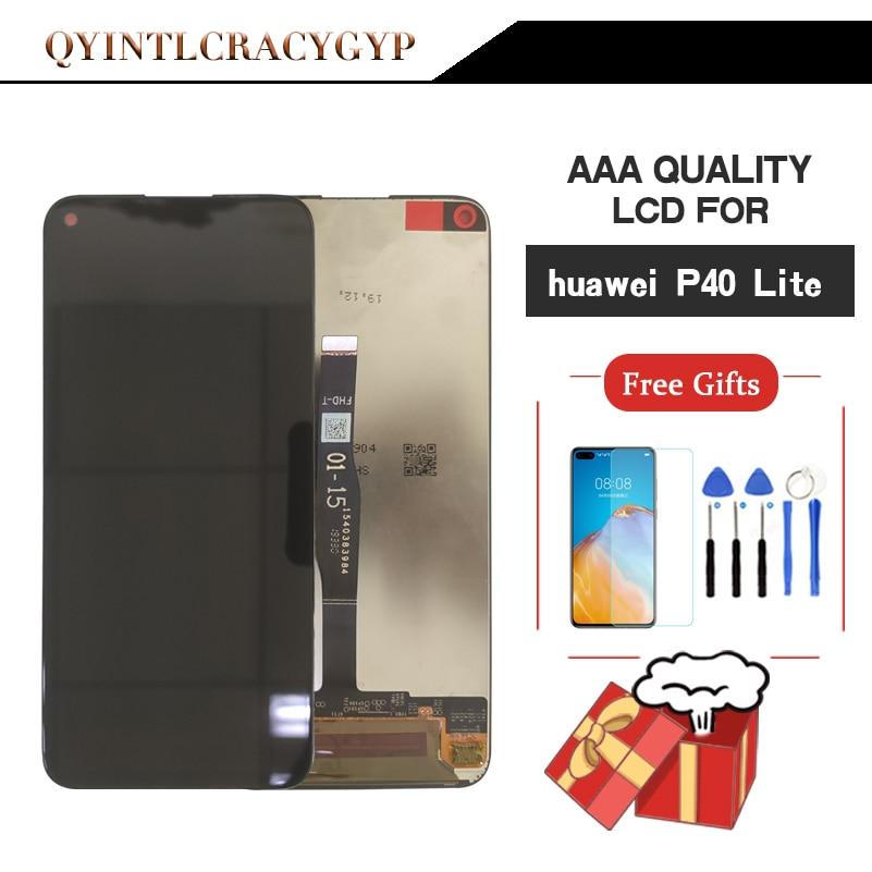 2310*1080 AAA Оригинальный ЖК-дисплей для HUAWEI P40 Lite ЖК-дисплей с рамкой экран для HUAWEI P40 Lite экран Nova 6 SE ЖК-экран