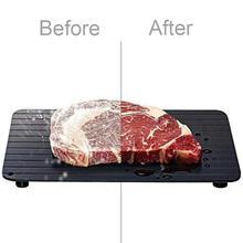 Plateau de dégivrage c rapide, pour les aliments, la viande, les fruits surgelés, plaque de décongélation rapide, outil de cuisine, coupe B