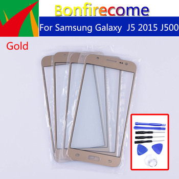 J500 For Samsung Galaxy J5 2015 J500 J500H J500FN J500F J500M SM-J500F LCD Front Outer Glass Touch Screen Lens Replacement 5.0 image
