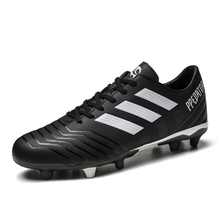 Sneakers Men Soccer-Shoes Futsal Long-Spikes Profession Outdoor Kids Male Chaussure Zapatos