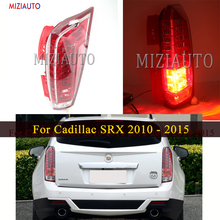 Rear Tail light For Cadillac SRX 2010 2011 2012 2013 2014 2015 Rear Brake Light Tail Stop Bumper Lamp Warning new for vw polo 2010 2011 2012 2013 right side led tail light rear light 6r0945096
