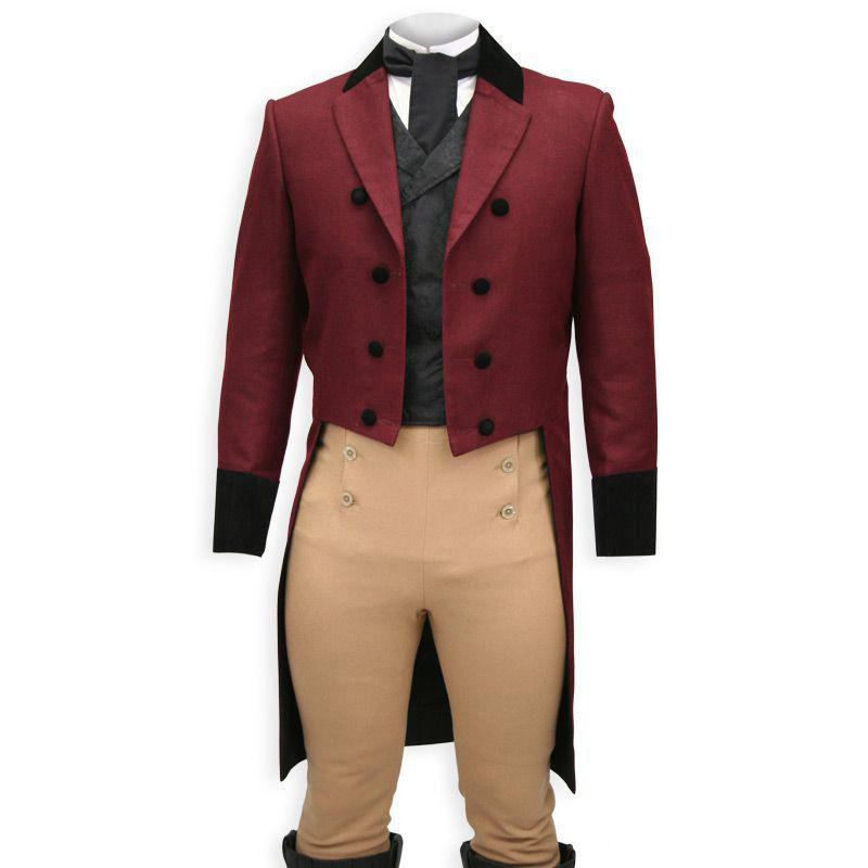 Double Breasted Man Tail Coat Peaked Lapel Mens Stage Clothes 3 Piece Jacket Pants Waistcoat Vest Custom Male Suit