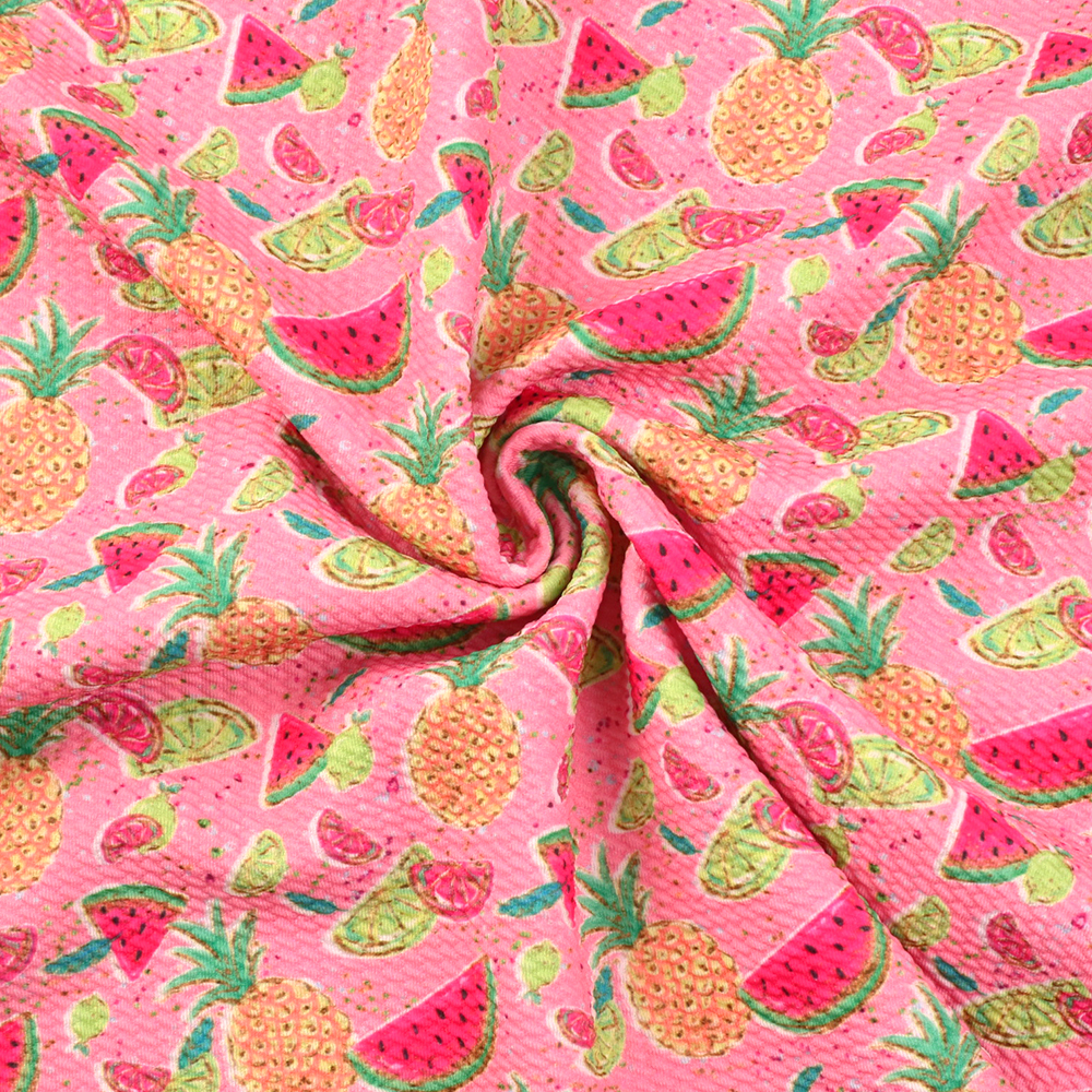 RED Meter//Fat Quarter//FQ 100/% Cotton Fabric FQ Watermalon Fruit Sewing Craft