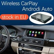 Sans fil Apple CarPlay Android Auto pour BMW 5 7 série F10 F11 F07 GT F01 F02 F03 F04 2009-2016, avec fonction de lien de miroir